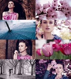 If the Months had Faces - April by ~checkers007 on deviantART - Keira Knightley