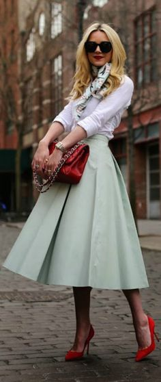 #street #fashion fall mint casual @wachabuy