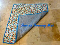 Portable Cutting Mat and Ironing Board Case - Free DIY | Ironing ... : quilted ironing mat - Adamdwight.com
