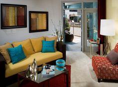 AMLI Quadrabgle Living Room