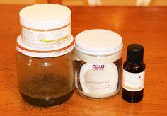 Ingrédients masque pour cheveux secs maison