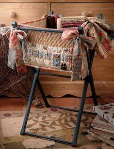 Le Quilt Shop de Véro de Born To Quilt est ouvert pour les quilteuses du monde entier qui y trouvent boutons, wool et velours, porte-fils, prêts à broder et livres