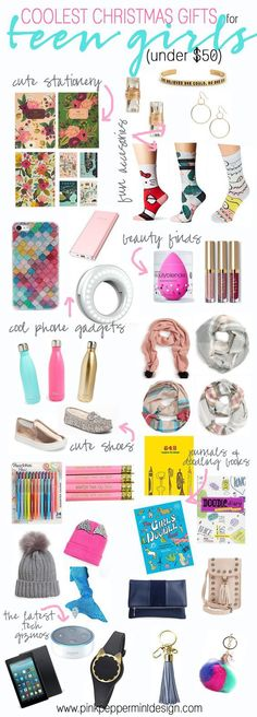 Super gifts for girls diy teenagers stocking stuffers ideas Birthday Presents For Teens, Teen Presents, Christmas Gifts For Teen Girls, Tween Girl Gifts, Diy Christmas, Gifts For Tweens, Christmas Gift Ideas For Teenage Girl, Xmas Presents, Christmas Items