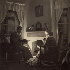 Family Reads at the Fireside, 1935 Prints at AllPosters.com
