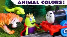 Funny Funlings and Thomas The Tank Engine learn colors and learn animals name at new Zoo. Fix It Funling builds a new zoo for King and Queen Funling so that .