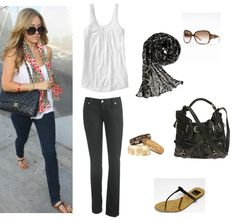 Lauren Conrad. Casual Outfit