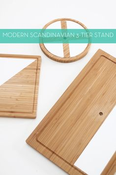Modern Scandinavian 3-Tier Stand | Hello Lidy for Curbly