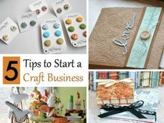 5 Tips to Start a Craft Business