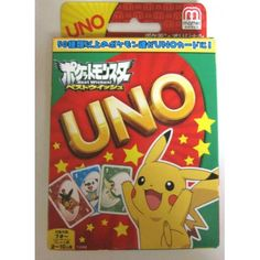 Pokemon 2012 Best Wishes Uno Card Game