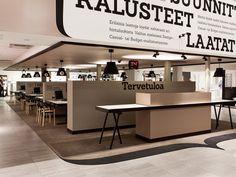 Laattapiste store by Bond store design