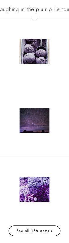 """""""laughing in the p u r p l e rain"""" by miss-scarlet-wxtch ❤ liked on Polyvore featuring backgrounds, pictures, intimates, photos, photo, tops, blue top, purple top, pink top and white top"""