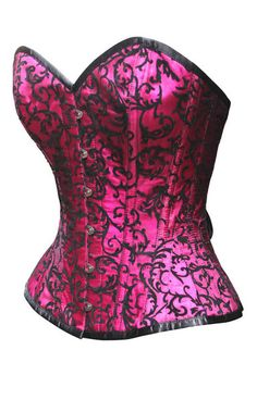 The Violet Vixen - Crushed Candy Fuschia Corset, $80.00 (http://thevioletvixen.com/corsets/crushed-candy-fuschia-corset/)