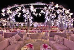 If you are looking trendy wedding events designers for wedding decor and bridal services in Lebanon, Beirut, Middle East, then you have come to the right place. Wedding Trends, Wedding Designs, Wedding Blog, Wedding Ideas, Extravagant Wedding Dresses, Indian Wedding Stage, Marriage Decoration, Indian Wedding Decorations, Restaurant Interior Design