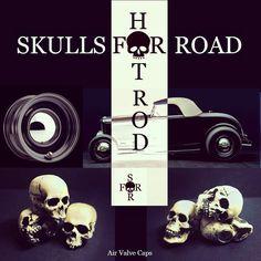 Hot Rods, Skulls, Cap, Baseball Hat, Skull