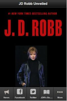 News, photos, videos social, & more!  Stay connected with all the latest on J.D. Robb.<p>J.D. Robb, A.K.A., Nora Roberts (born Eleanor Marie Robertson, October 10, 1950 in Silver Spring, Maryland, USA) is a bestselling American author of more than 209 rom