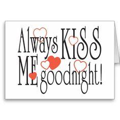 ✯ Kus me altijd goede nacht! <3
