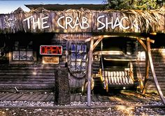 Crab Shack Tybee Island, GA - one of the cutest places I've been