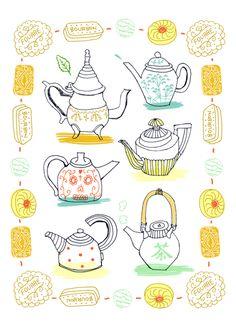 Teapots by sophie crichton