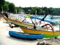 Balinese boats