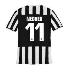 e3f7f112a6f 2013-2014 Juventus Nike Home Football Shirt 11 Nedved http   www.