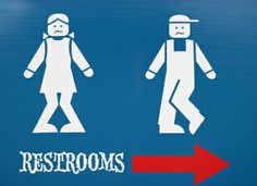 restroom-sign-funny Thank God For Tim Horton's Or What Not To Eat Before A Run | candies & crunches