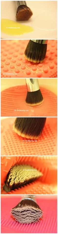 how to clean your makeup brushes in the fast and the most useful way