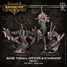 Bane Thrall Officer and Standard | Privateer Press