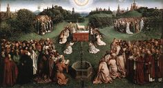 Adoration of the Lamb, by Jan van EYCK 1425-29