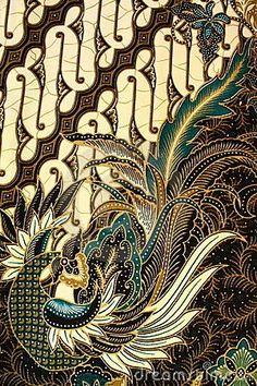 Photo about Detailed Batik Pattern, Yogyakarta, Indonesia. Image of drawing, decor, backgrounds - 13804340 Batik Art, Batik Prints, Textile Patterns, Textile Art, Design Patterns, Batik Kebaya, Indonesian Art, Javanese, Silk Painting