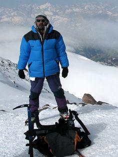On the top of Europe - Elbrus Peak ( 5642 m), Russia, 2010 #greatwalker