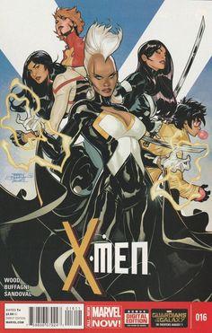 X-men # 16 Marvel Now! Vol 4