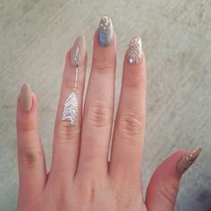 Tattoos and nails look
