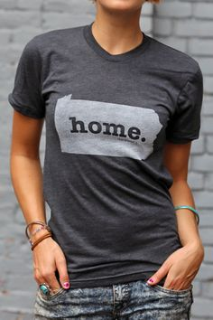 The Home. T - Pennsylvania Home t shirt <3 (http://www.thehomet.com/pennsylvania-home-t-shirt)