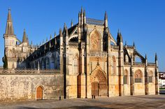 Batalha Monastery, a UNESCO World Heritage Site. Portugal