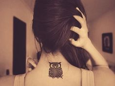 owl tattoo in memory of a loved one - Google Search
