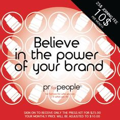 Get the right PR tools! All for the price of two cups of coffee - now until June 15th! www.prforpeople.com