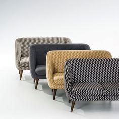 """Sofa """"Séméon"""", 2- oder 3-Sitzer, Vintage-Style La Redoute Interieurs   La Redoute Mobile"""