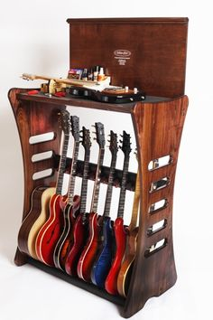 Guitar rack; $1250. I can dream...