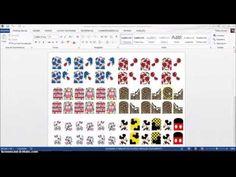Como Fazer Cartela de Películas e Inserir Imagem - YouTube