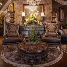 Make your interior grand by adding Linly Designs' custom upholstery pieces in with your existing decor. Their sculpted detail, design and quality will complement your space and create a gorgeous room you'll love for years and years. #accessorycall
