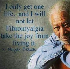 From Morgan Freeman himself. #ChronicIllnessQuotes