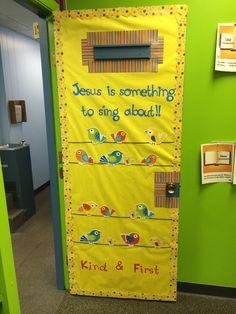 Spring Bible Class Door