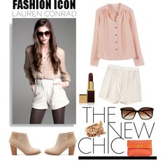 """""""Fall Fashion inspired by Lauren Conrad"""" by chinntaballe on Polyvore...pretty much have this outfit already."""