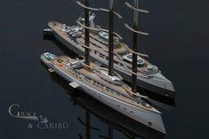 Explorer Yacht, Expedition Yachts, Yacht Design, Super Yachts, Luxury Yachts, Transportation Design, Catamaran, Cruises, Futuristic