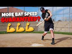 5 Ways To INSTANTLY Increase Bat Speed!! (Hit More Home Runs) - YouTube Baseball Hitting Drills, Softball Drills, Slow Pitch Softball, Baseball Batter, Baseball Mom, Baseball Quotes, Speed Workout, Baseball Videos, Baseball Training