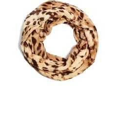 GUESS Twisted Leopard-Print Infinity Scarf ($35) ❤ liked on Polyvore featuring accessories, scarves, leopard, infinity scarf, leopard loop scarf, leopard infinity scarves, infinity scarves and polka dot infinity scarf