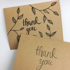 New thank you cards on the way!!