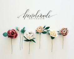handmade by sara kim - paper flowers
