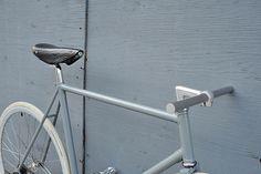 Sentinella | viking frame powder coated in grey. white tires… | Flickr