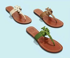 9438b6c01 Tory Burch Moore Flat Thong Sandal is the new Moore. Get one in every color  to wear day and night on your next island getaway